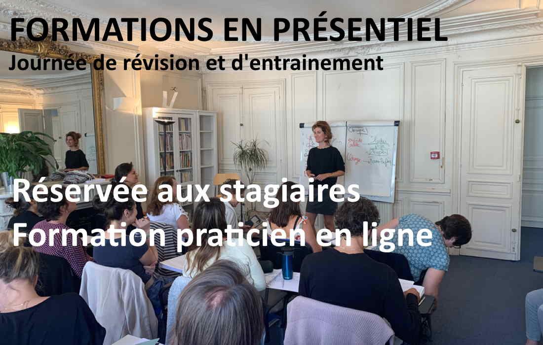 Formations présentielles réservées aux stagiaires en ligne