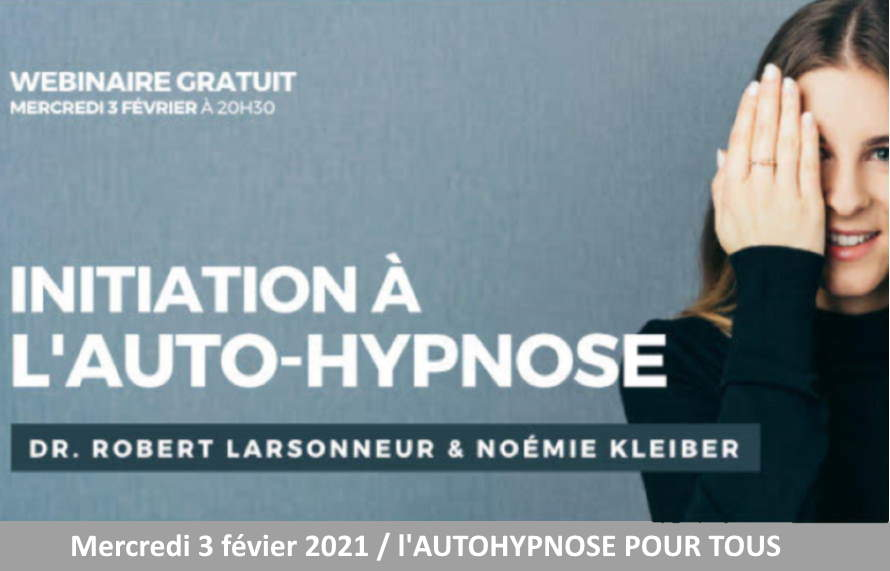 WebConférence autohypnose mercredi 3 février